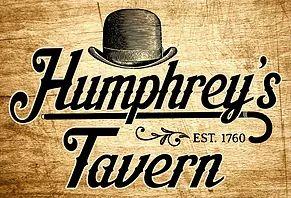 Humphrey's Tavern   Restaurant, Tap Room, Bar, Special Events   Menu