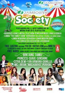 Jamsostek goes to Society, Medan