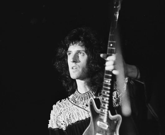Brian May On March 1, 1974, Queen began their first headlining UK tour at the Winter Garden's Blackpool, England.