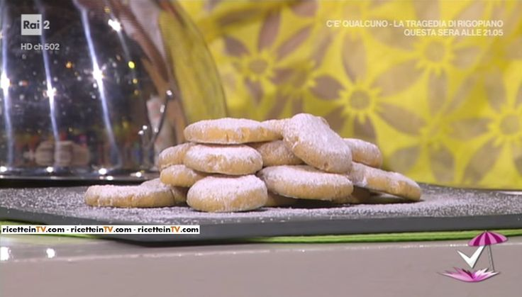 """""""Detto Fatto"""": la ricetta dei biscotti morbidi di Alessandro Servida e Andrea del 2 giugno 2017."""