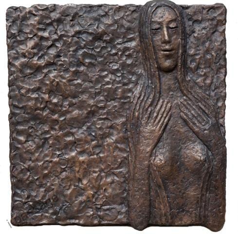 Galerie myrro | Bronzové sochy velké | Olbram Zoubek: Ještě Zlatovláska | Internetová pasáž