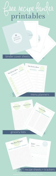 The 25+ best Recipe binders ideas on Pinterest | Recipe books ...