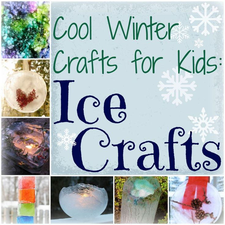 Cool Winter Crafts For Kids 10 Ice