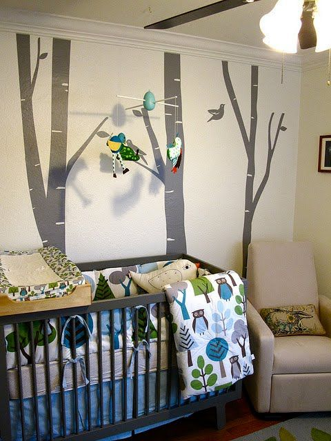 936 best images about nature baby themed rooms on pinterest nursery trees white trees and babies nursery - Baby Themed Rooms