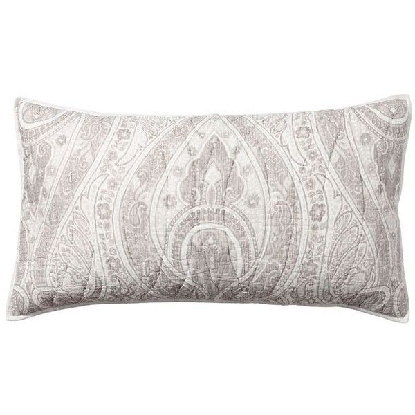 Pottery Barn Billie Paisley Sham ($60) ❤ liked on Polyvore featuring home, bed & bath, bedding, bed accessories, pottery barn, contemporary bedding, paisley pillow shams, pottery barn bed linens and pottery barn shams