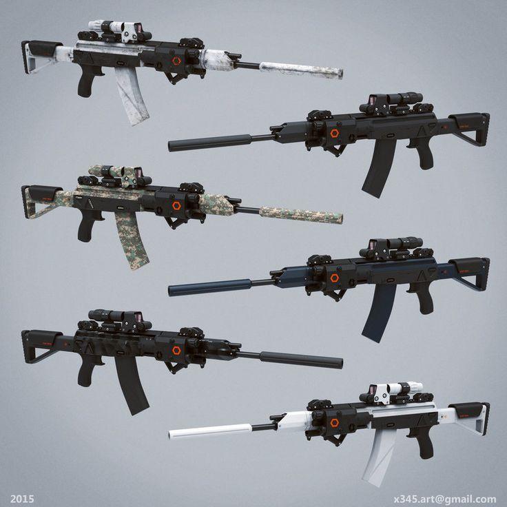 Pin on armes futuristes
