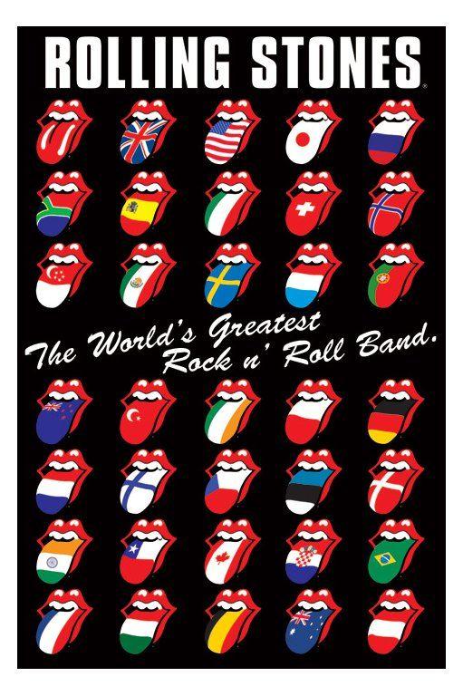 rollingstones logo | 10 fotos nunca vistas de los Rolling Stones - Taringa!