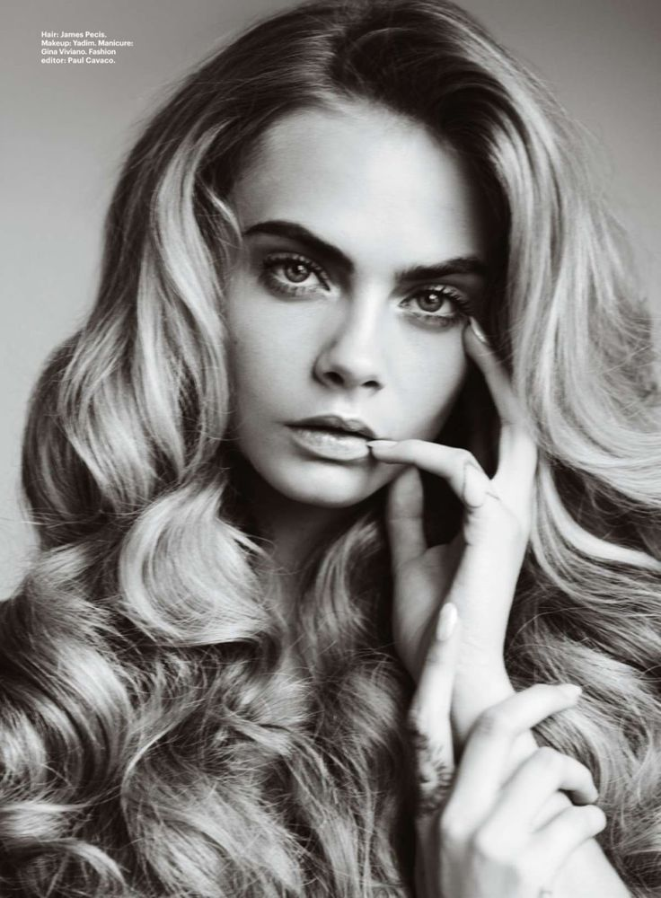 Best Of Beauty: #CaraDelevingne by #MarioTestino for #Allure October 2014