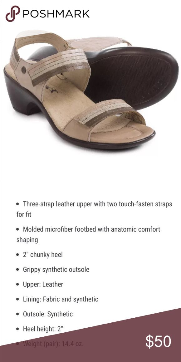 NIB💕Romika Comfort Sandals Color: Taupe Romika Shoes Sandals