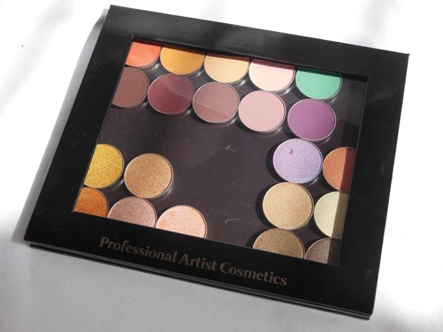 PAC Cosmetics Empty Magnet Palette Review
