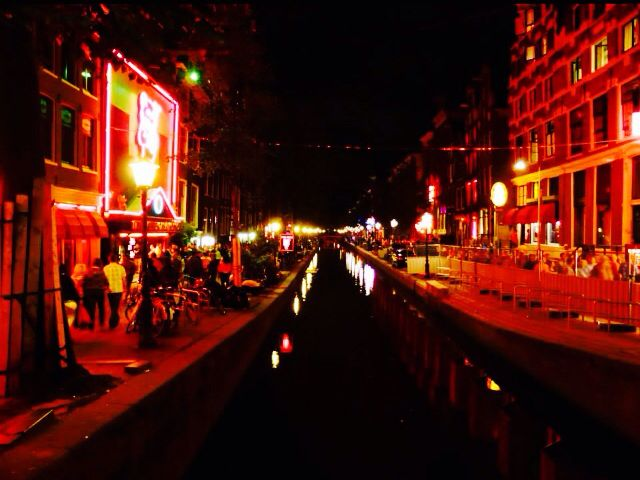 Red light district, Amsterdam, Holland (2013)