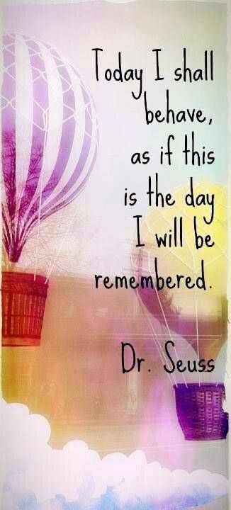Dr. Seuss. Repinned by http://www.wordsfromdaddysmouth.com.au