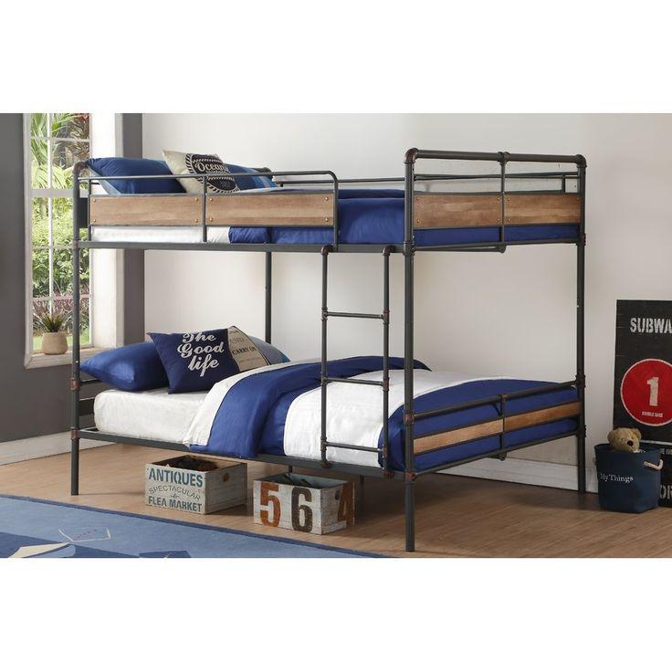 best 25 queen bunk beds ideas on pinterest bunk rooms bunk bed rooms and queen size bunk beds. Black Bedroom Furniture Sets. Home Design Ideas
