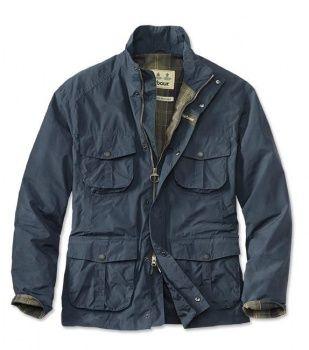 Barbour Men's Waterproof Utility Jacket - Light Navy (MWB0465)