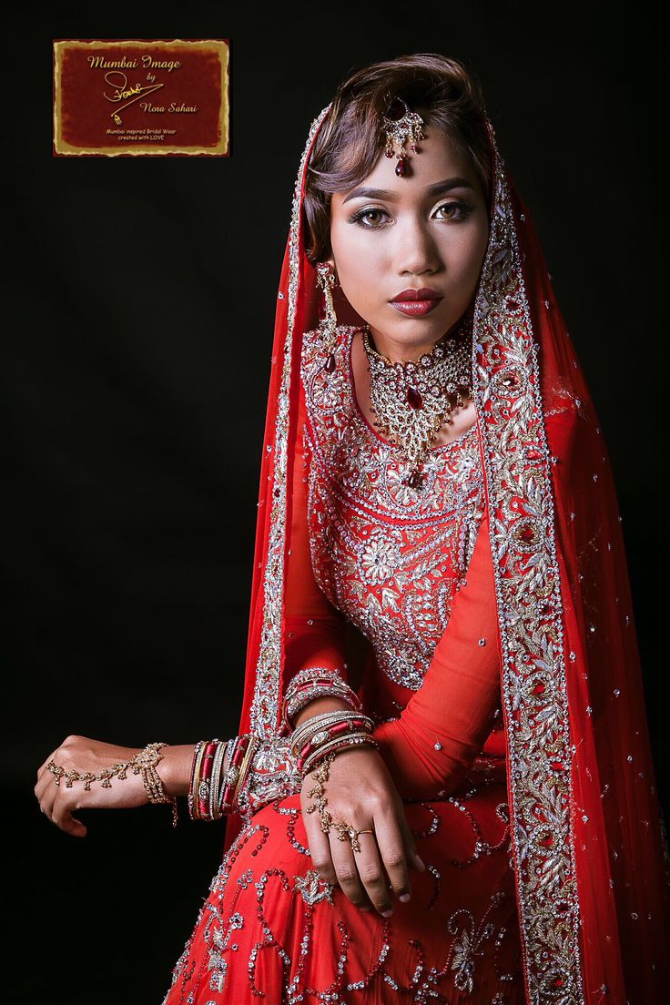 Our Alluring Red Maxi Pishwa we called Sherryana