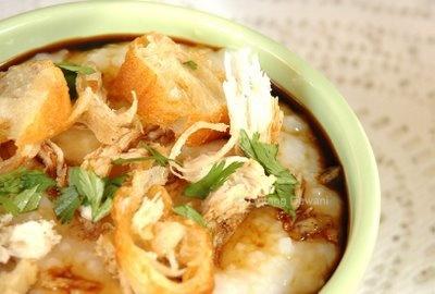 Bubur Ayam (Indonesian Food) - always great for breakfast!