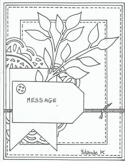 Sketch Cardathon 2015 ' I really like this sketch. It would make a pretty wedding card