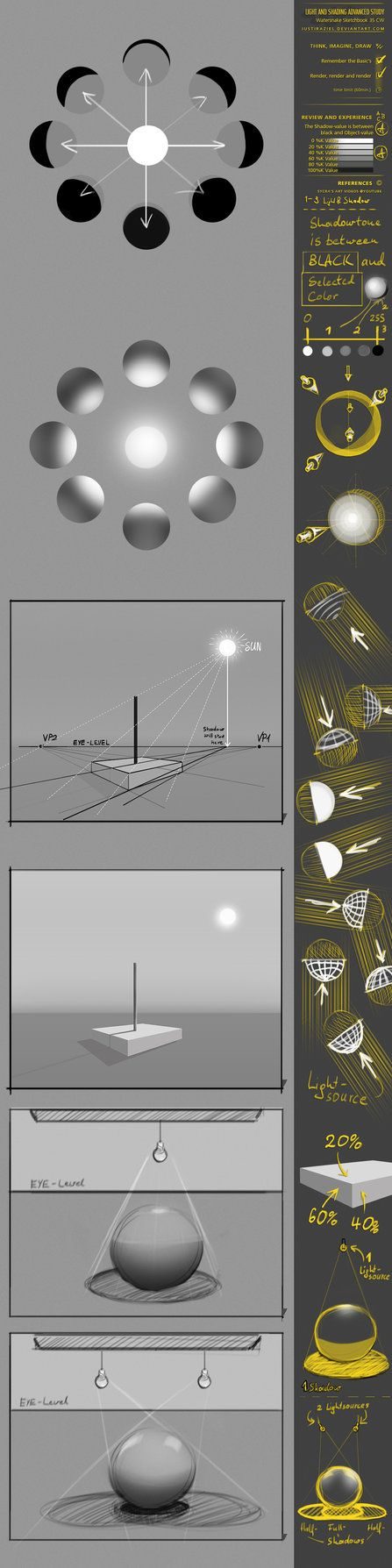 CW35 Light study by JustIRaziel