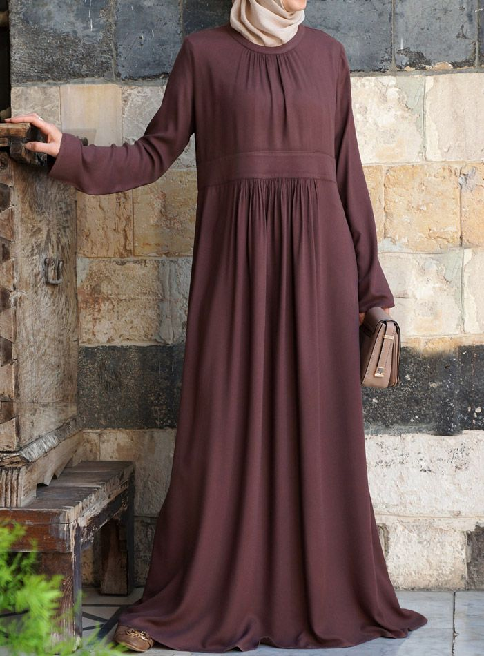 A Hijabi Style Staple - long loose dress: The Paseo Dress from shukronline.com