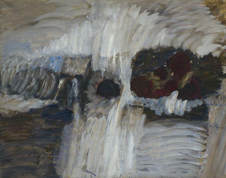 jacek sienicki art | Jacek Sempoliński | MARTWA NATURA Z JABŁKAMI, 1965 | olej, płótno ...