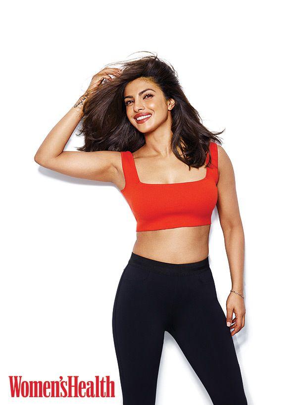 Priyanka Chopra in Women's Health magazine (Image Courtesy of Women's Health)