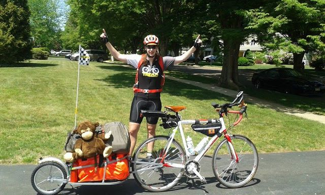 I decided to turn my cheap road bike into a touring bike and start touring across America. On this adventure, I am not planning on following any of the major bike routes, but rather old high ways and smaller streets that will take me into little towns and neighborhoods that haven't seen any bicycle tourists.