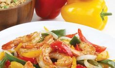 Florida Gulf Shrimp and Sweet Pepper Stir-Fry  / Entrees / Recipes / Home - Florida Department of Agriculture & Consumer Services