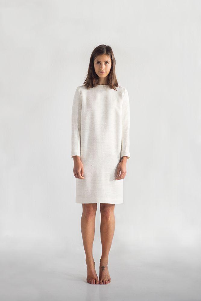 Nikolina dress, 100% Ahimsa silk
