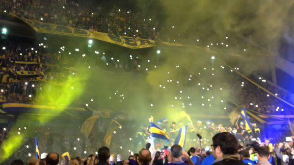 """🏆 Boca Jrs. Oficial on Twitter: """"¡Fiesta en la Bombonera! https://t.co/nhTHswkcUK"""""""