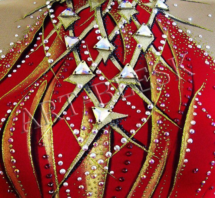 Образцы декорирования костюмов 1 :: Арт-ателье «Блеск»