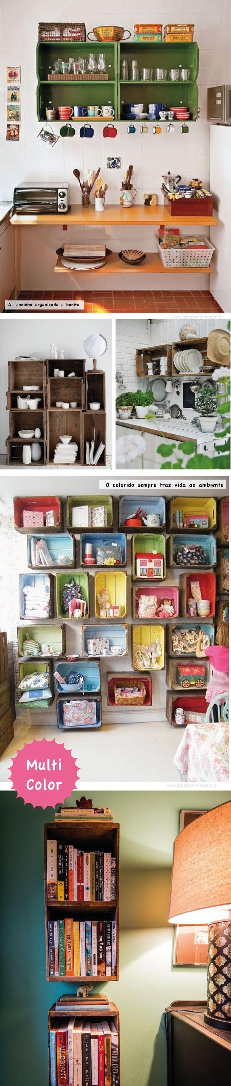 Reciclando caixotes de feira