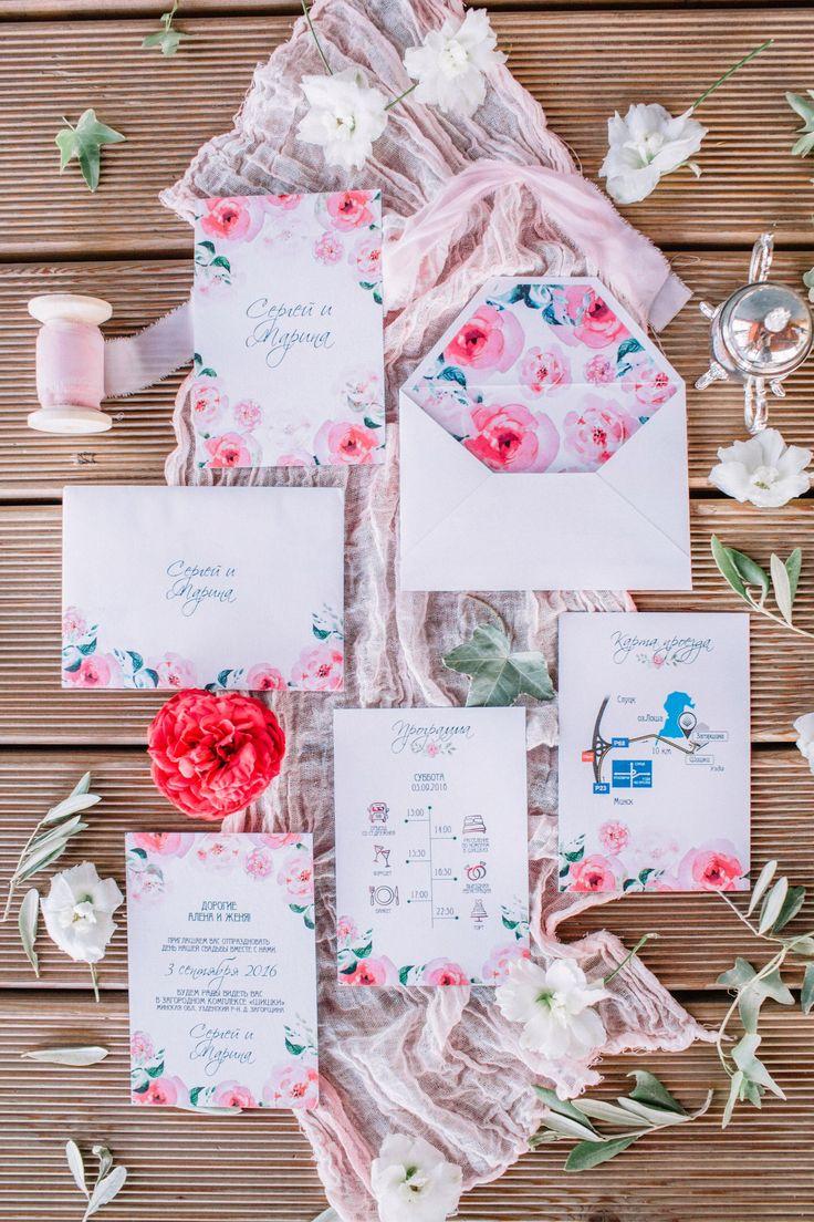 Свадебные пригласительные, пригласительные на свадьбу, цветочные пригласительные, схема проезда, конверт на свадьбу, Wedding invitations, wedding invitations, floral invitation cards, travel arrangements, envelopes for weddings,