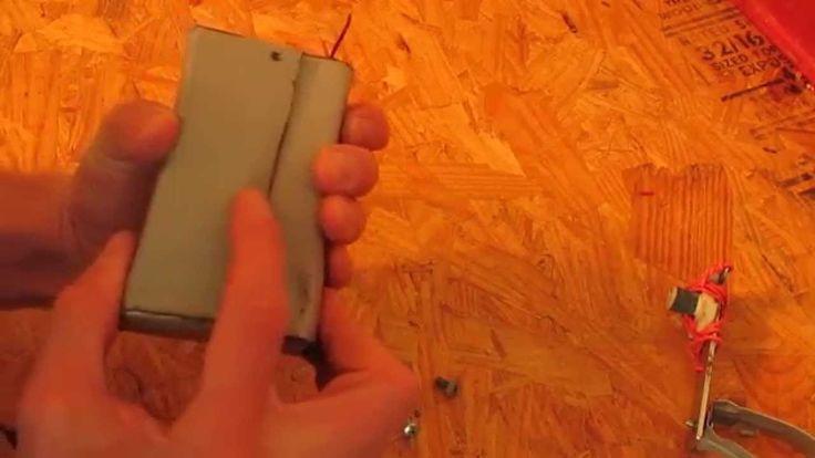 DIY Hand Cranked Emergency Generator