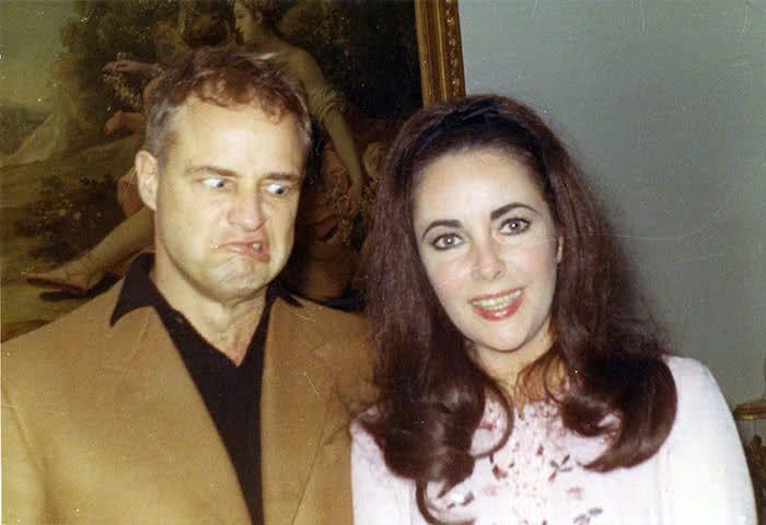 Marlon Brando & Elizabeth Taylor