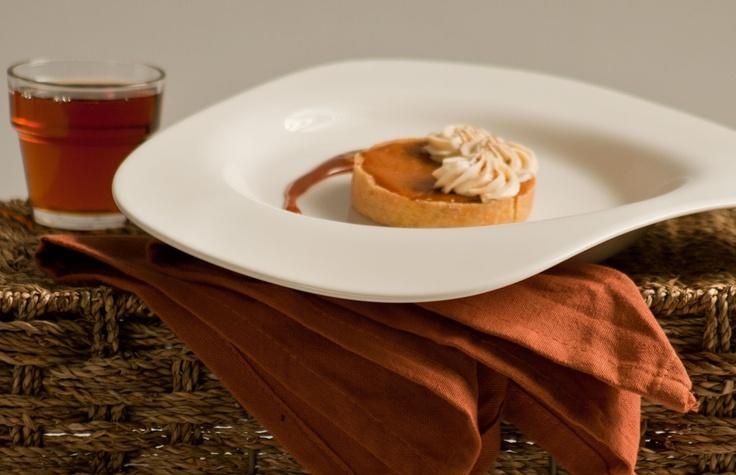 Pumpkin tart. www.steannes.com/bakery.html