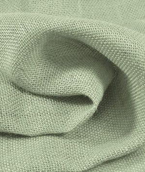 Sage Green Burlap Fabric $3.80 per yard (Pretty for Bridal shower decor and wraps for favors)