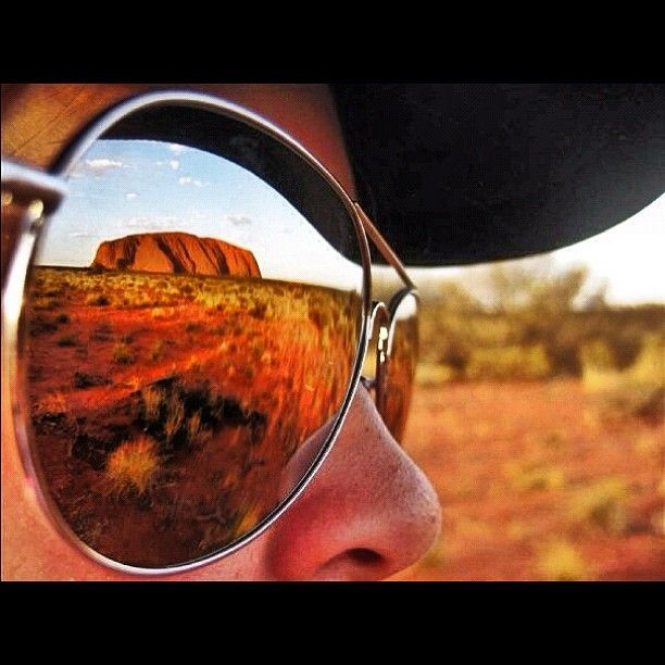 There's nothing like Uluru... I want a photo like this :)