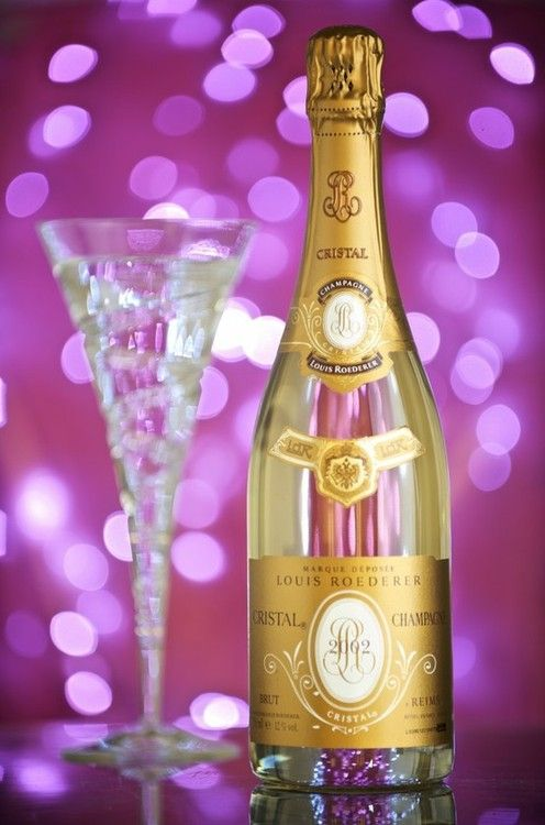 The best!  I love this champagne!  Cristal Champagne and Wedgewood