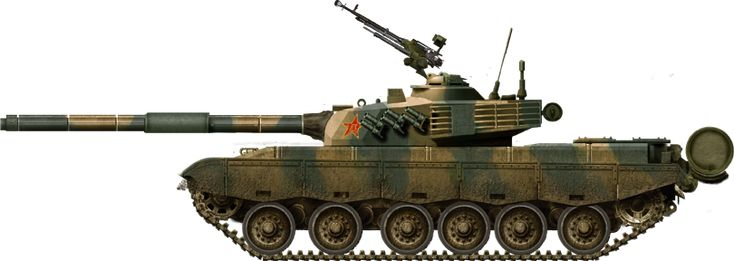 Chinese PLA Type 85-II main battle tank