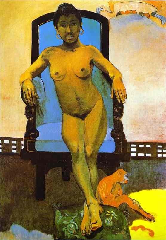 Gauguin ~ Annah, the Javanese ~ 1893