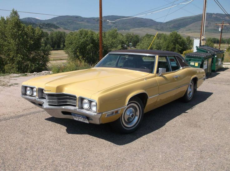 1971 Ford Thunderbird Four Door Leather Interior, Landau T