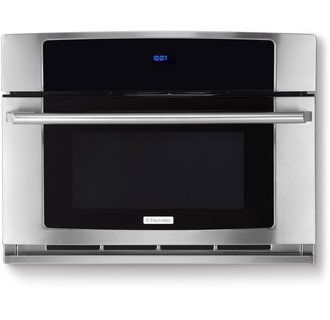 "View the Electrolux EW30SO60QS 30"" Built-In Convection Microwave Oven with Drop-Down Door and Wave-Touch® Controls at Build.com."