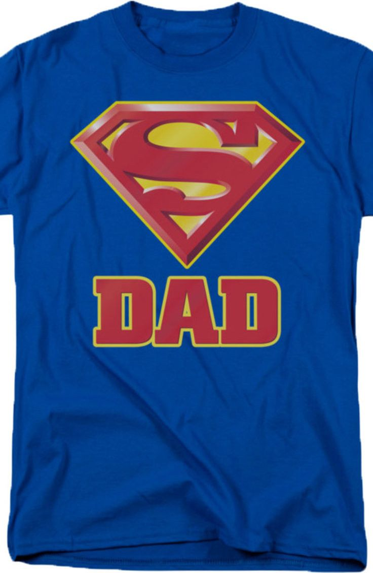 Superman Dad T-Shirt: Super Hero Shirts at 80sTees.com
