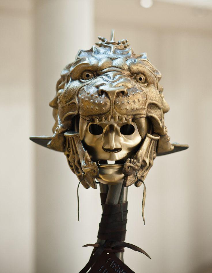 Mask HelmetGladiator HelmetPredator HelmetLion por BirdArtBulgaria                                                                                                                                                      Más