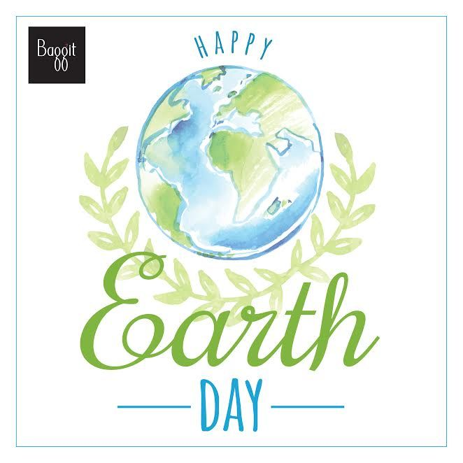 Make a Difference! Happy World Earth Day! Baggit is doing its bit to save the Earth by making use of eco-friendly, recyclable materials to manufacture their bags and accessories. We hope you celebrate this day by doing your own bit too. Wishing everyone a happy World Earth Day!