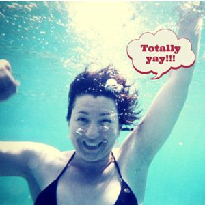 I love having the confidence to be myself, as silly as it may be! #waterplay #freetobeme