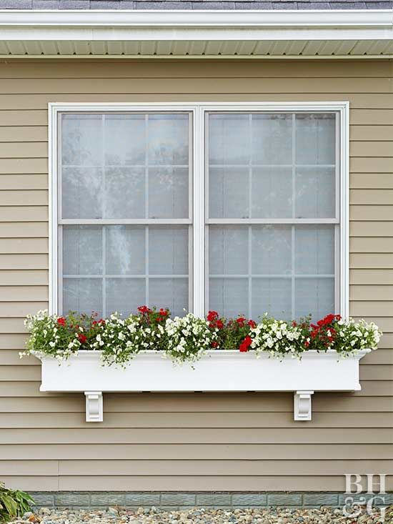 Learn how to install a window box on your home's exterior for quick curb appeal.