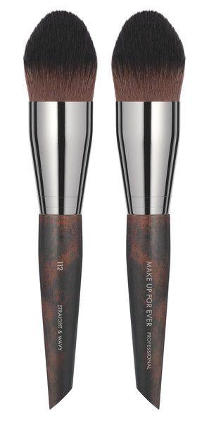 Buy Make Up For Ever Brushes | Precision Foundation Brush Medium 112