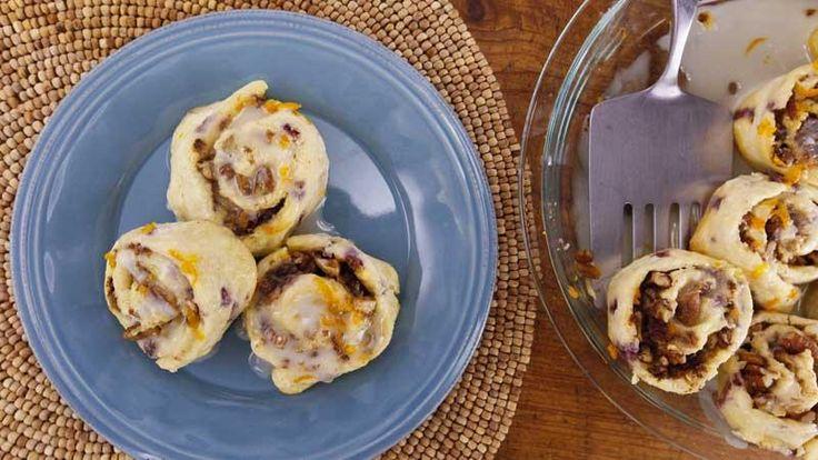 Sunny Anderson's Easy Pancake Mix Cinnamon Bacon Rolls