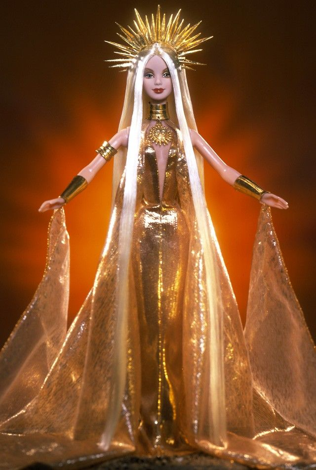 Morning Sun Princess Barbie Doll - 2000 Celestial Collection - Barbie Collector